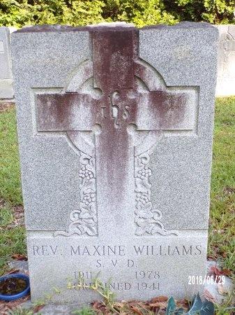 WILLIAMS, REV, MAXINE - Hancock County, Mississippi | MAXINE WILLIAMS, REV - Mississippi Gravestone Photos