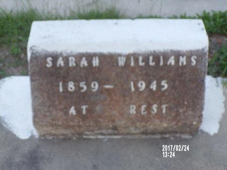 WILLIAMS, SARAH - Hancock County, Mississippi | SARAH WILLIAMS - Mississippi Gravestone Photos