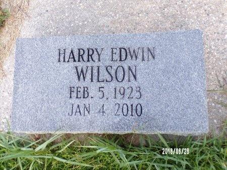 WILSON, HARRY EDWIN - Hancock County, Mississippi   HARRY EDWIN WILSON - Mississippi Gravestone Photos