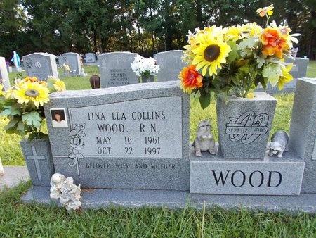 COLLINS WOOD, TINA LEA, RN - Hancock County, Mississippi | TINA LEA, RN COLLINS WOOD - Mississippi Gravestone Photos