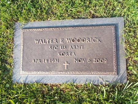 WOODRICK (VETERAN KOR), WALTER E (NEW) - Hancock County, Mississippi | WALTER E (NEW) WOODRICK (VETERAN KOR) - Mississippi Gravestone Photos