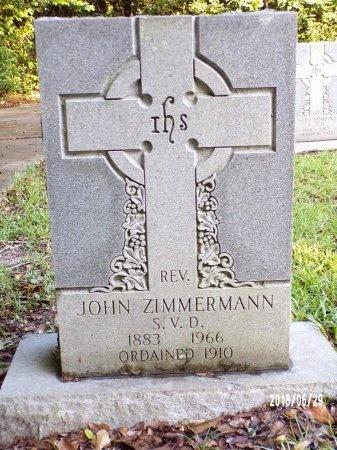 ZIMMERMANN, REV, JOHN - Hancock County, Mississippi | JOHN ZIMMERMANN, REV - Mississippi Gravestone Photos