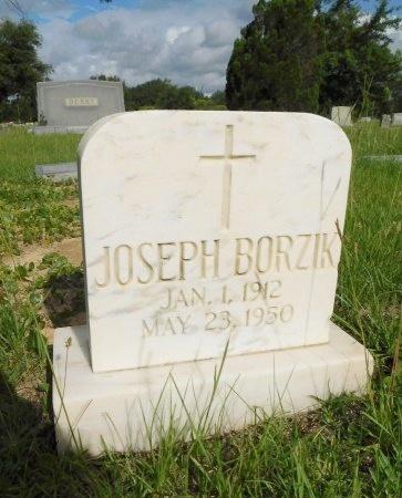 BORZIK, JOSEPH - Harrison County, Mississippi   JOSEPH BORZIK - Mississippi Gravestone Photos