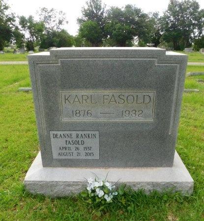 RANKIN FASOLD, DEANNE - Harrison County, Mississippi | DEANNE RANKIN FASOLD - Mississippi Gravestone Photos