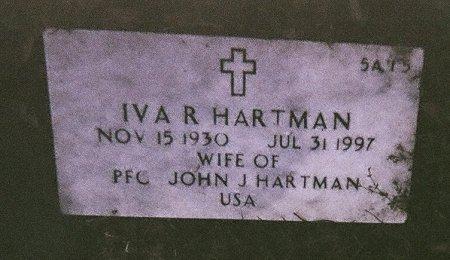 HARTMAN, IVA RUTH - Harrison County, Mississippi | IVA RUTH HARTMAN - Mississippi Gravestone Photos
