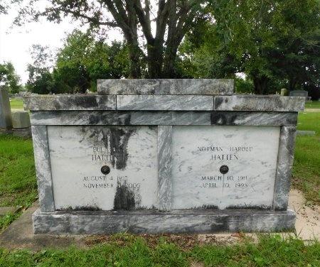 HATTEN, EULA - Harrison County, Mississippi | EULA HATTEN - Mississippi Gravestone Photos