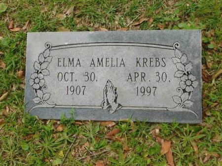 KREBS, ELMA AMELIA - Harrison County, Mississippi | ELMA AMELIA KREBS - Mississippi Gravestone Photos