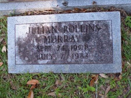 MURRAY, JULIAN ROLLINS - Harrison County, Mississippi   JULIAN ROLLINS MURRAY - Mississippi Gravestone Photos