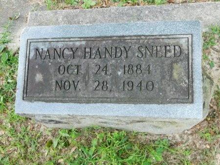 HANDY SNEED, NANCY BRONSON - Harrison County, Mississippi   NANCY BRONSON HANDY SNEED - Mississippi Gravestone Photos