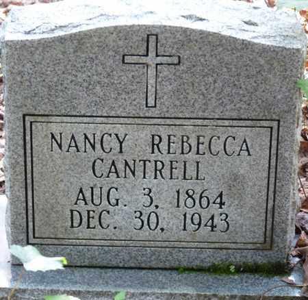 CANTRELL, NANCY REBECCA - Itawamba County, Mississippi | NANCY REBECCA CANTRELL - Mississippi Gravestone Photos