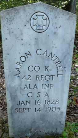 CANTRELL (VETERAN CSA), AARON - Itawamba County, Mississippi   AARON CANTRELL (VETERAN CSA) - Mississippi Gravestone Photos