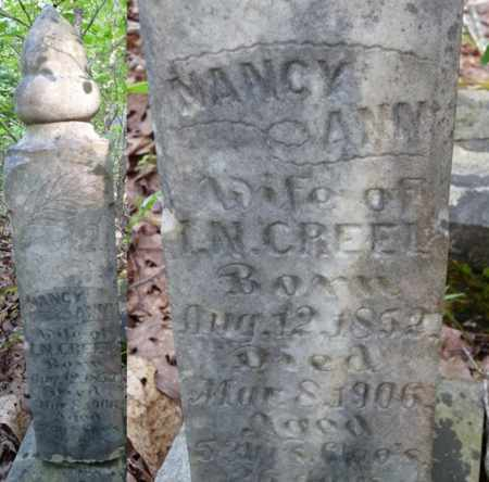 CREEL, NANCY ANN - Itawamba County, Mississippi   NANCY ANN CREEL - Mississippi Gravestone Photos