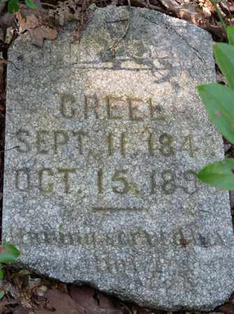 CREEL, POLLY - Itawamba County, Mississippi | POLLY CREEL - Mississippi Gravestone Photos