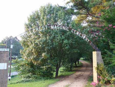 *HILLCREST MASONIC, CEMETERY - Itawamba County, Mississippi | CEMETERY *HILLCREST MASONIC - Mississippi Gravestone Photos