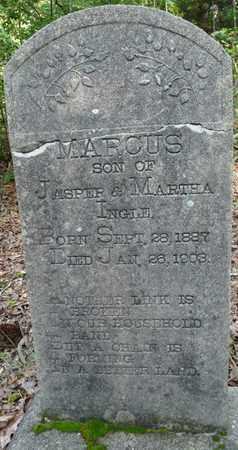 INGLE, MARCUS - Itawamba County, Mississippi | MARCUS INGLE - Mississippi Gravestone Photos