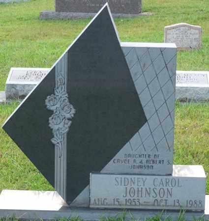 JOHNSON, SIDNEY CAROL - Itawamba County, Mississippi | SIDNEY CAROL JOHNSON - Mississippi Gravestone Photos