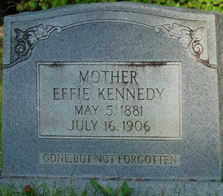 KENNEDY, EFFIE - Itawamba County, Mississippi | EFFIE KENNEDY - Mississippi Gravestone Photos