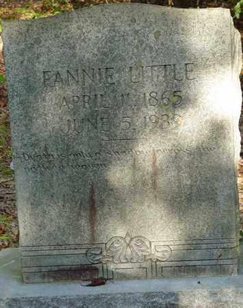 LITTLE, FANNIE - Itawamba County, Mississippi   FANNIE LITTLE - Mississippi Gravestone Photos