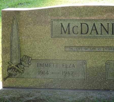 MCDANIEL, EMMETT ELZA - Itawamba County, Mississippi | EMMETT ELZA MCDANIEL - Mississippi Gravestone Photos