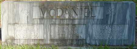 MCDANIEL, EMMETT E - Itawamba County, Mississippi | EMMETT E MCDANIEL - Mississippi Gravestone Photos