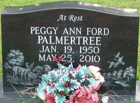 FORD PALMERTREE, PEGGY ANN - Itawamba County, Mississippi | PEGGY ANN FORD PALMERTREE - Mississippi Gravestone Photos