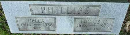 PHILLIPS, DELLA - Itawamba County, Mississippi | DELLA PHILLIPS - Mississippi Gravestone Photos