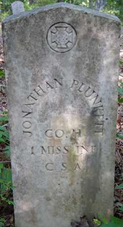 PLUNKETT (VETERAN CSA), JONATHAN - Itawamba County, Mississippi | JONATHAN PLUNKETT (VETERAN CSA) - Mississippi Gravestone Photos
