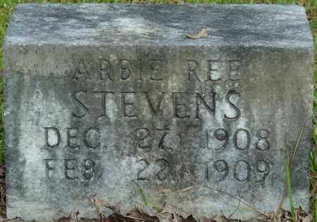 STEVENS, ARBIE REE - Itawamba County, Mississippi | ARBIE REE STEVENS - Mississippi Gravestone Photos