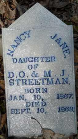 STREETMAN, NANCY JANE - Itawamba County, Mississippi | NANCY JANE STREETMAN - Mississippi Gravestone Photos