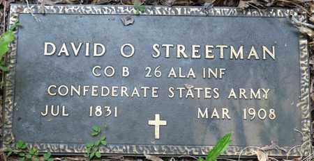 STREETMAN (VETERAN CSA), DAVID ODOM - Itawamba County, Mississippi | DAVID ODOM STREETMAN (VETERAN CSA) - Mississippi Gravestone Photos