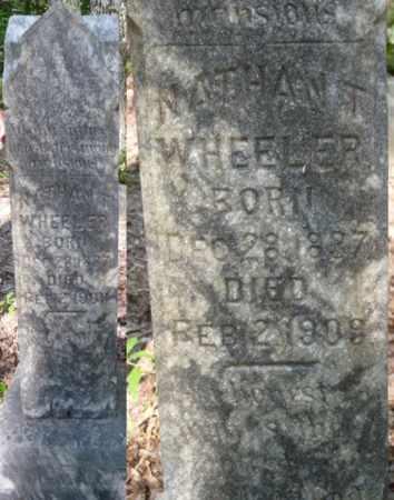 WHEELER, NATHAN T - Itawamba County, Mississippi   NATHAN T WHEELER - Mississippi Gravestone Photos