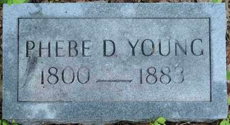 YOUNG, PHEBE D - Itawamba County, Mississippi   PHEBE D YOUNG - Mississippi Gravestone Photos