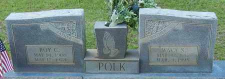 POLK, WAVA S - Jefferson Davis County, Mississippi   WAVA S POLK - Mississippi Gravestone Photos
