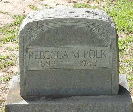 POLK, REBECCA M - Jefferson Davis County, Mississippi | REBECCA M POLK - Mississippi Gravestone Photos