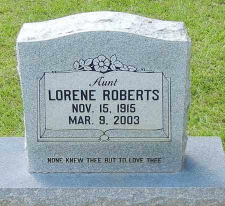 ROBERTS, LORENE - Jefferson Davis County, Mississippi | LORENE ROBERTS - Mississippi Gravestone Photos