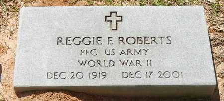 ROBERTS (VETERAN WWII), REGGIE E - Jefferson Davis County, Mississippi | REGGIE E ROBERTS (VETERAN WWII) - Mississippi Gravestone Photos