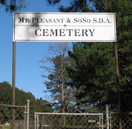 *CEMETERY SIGN, . - Jones County, Mississippi | . *CEMETERY SIGN - Mississippi Gravestone Photos