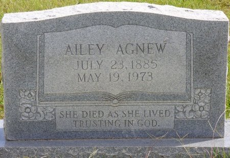 AGNEW, AILEY - Lee County, Mississippi | AILEY AGNEW - Mississippi Gravestone Photos