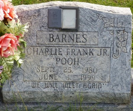 "BARNES JR., CHARLIE JAMES ""POOH"" - Lee County, Mississippi 