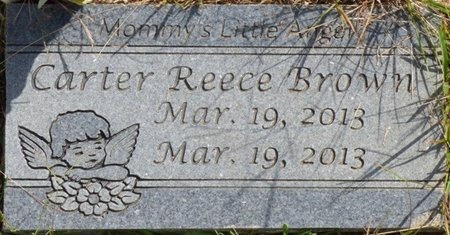 BROWN, CARTER REECE - Lee County, Mississippi | CARTER REECE BROWN - Mississippi Gravestone Photos