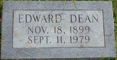 DEAN, EDWARD - Lee County, Mississippi | EDWARD DEAN - Mississippi Gravestone Photos