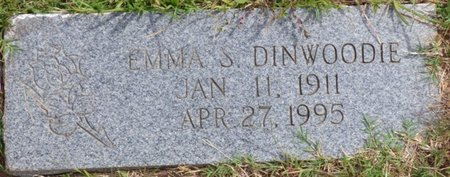DINWOODIE, EMMA S. - Lee County, Mississippi | EMMA S. DINWOODIE - Mississippi Gravestone Photos