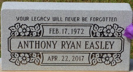 EASLEY, ANTHONY RYAN - Lee County, Mississippi | ANTHONY RYAN EASLEY - Mississippi Gravestone Photos