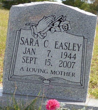 EASLEY, SARA C - Lee County, Mississippi   SARA C EASLEY - Mississippi Gravestone Photos