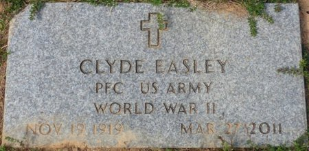 EASLEY (VETERAN WWII), CLYDE - Lee County, Mississippi | CLYDE EASLEY (VETERAN WWII) - Mississippi Gravestone Photos