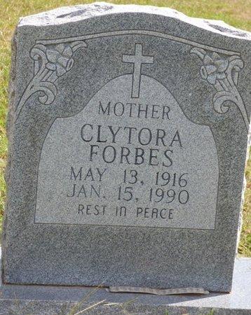 FORBES, CLYTORA - Lee County, Mississippi | CLYTORA FORBES - Mississippi Gravestone Photos