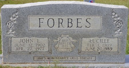 FORBES, LUCILLE - Lee County, Mississippi | LUCILLE FORBES - Mississippi Gravestone Photos