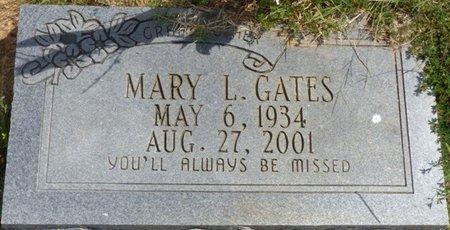 GATES, MARY L - Lee County, Mississippi   MARY L GATES - Mississippi Gravestone Photos