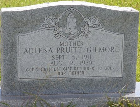 PRUITT GILMORE, ADLENA - Lee County, Mississippi | ADLENA PRUITT GILMORE - Mississippi Gravestone Photos