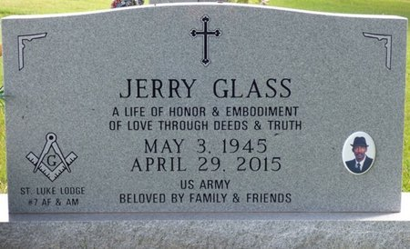 GLASS, JERRY - Lee County, Mississippi | JERRY GLASS - Mississippi Gravestone Photos